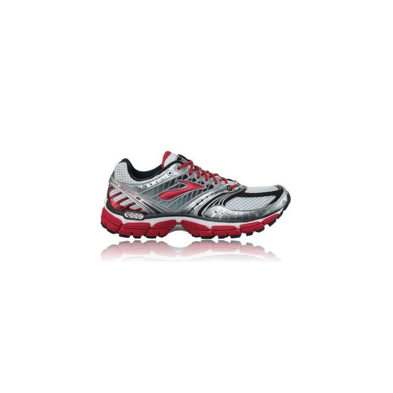 53501e97a0f ... RUNNING SHOES BROOKS GLYCERIN 9 GREY AND RED FOR MEN S
