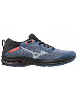 RUNNING SHOES MIZUNO WAVE RIDER TT BLUE AND GREY FOR WOMEN'S