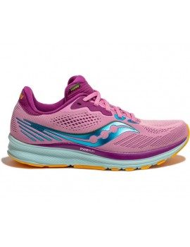 RUNNING SHOES SAUCONY RIDE 14 PINK FOR WOMEN'S