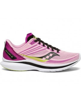 SAUCONY KINVARA 12 PINK RUNNING SHOES FOR WOMEN'S