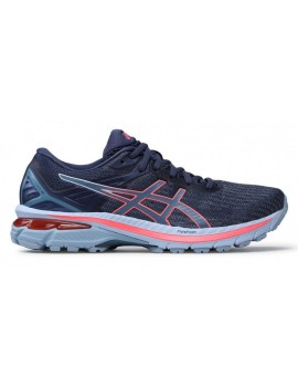 RUNNING SHOES ASICS GT 2000 V9 BLUE AND PINK FOR WOMEN'S