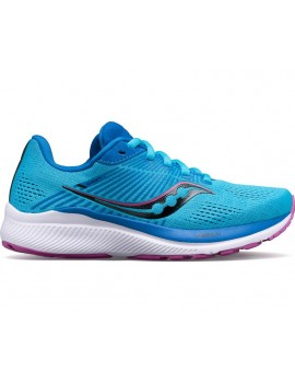 RUNNING SHOES SAUCONY GUIDE 14 BLUE FOR WOMEN'S