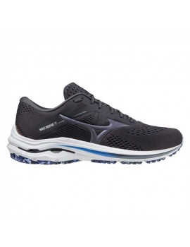 RUNNING SHOES MIZUNO WAVE INSPIRE 17 GREY AND BLUE FOR MEN'S