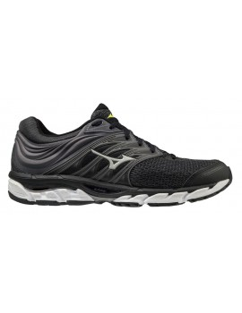 RUNNING SHOES MIZUNO WAVE PARADOX 5 BLACK AND YELLOW FOR MEN'S