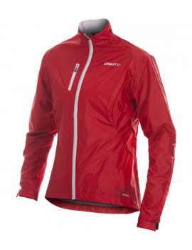 CRAFT RUNNING PR WEATHER JACKET RED FOR MEN'S