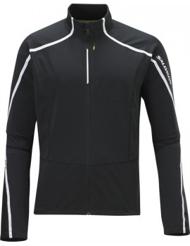 SALOMON DYNAMICS JACKET BLACK AND WHITE FOR MEN'S