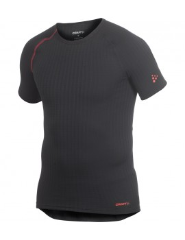 CRAFT ACTIVE EXTREME WITH SHORT SLEEVE UNDERWEAR BLACK FOR MEN'S