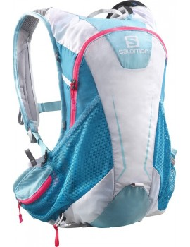 BACK PAK SALOMON AGILE 12 SET WHITE, BLUE AND PINK FOR WOMEN'S