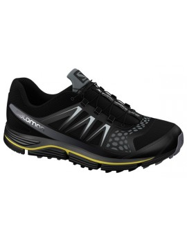 TRAIL RUNNING SHOES SALOMON XR CROSSMAX 2 BLACK AND YELLOW FOR MEN'S