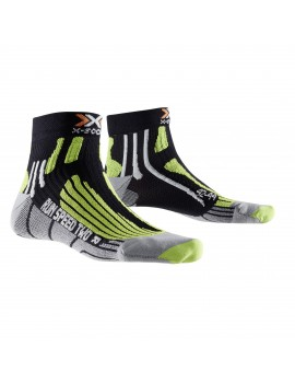X-SOCKS RUN SPEED TWO BLACK, GREY AND GREEN M