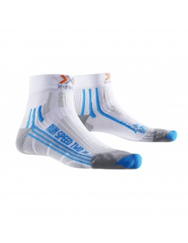 X-SOCKS RUN SPEED TWO WHITE AND BLUE W