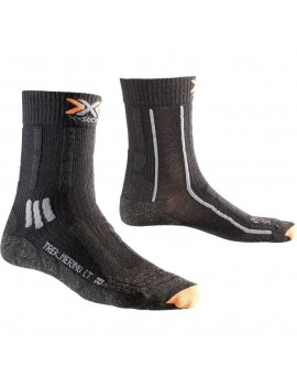 X-SOCKS TREKKING MERINO LIGHT BLACK M