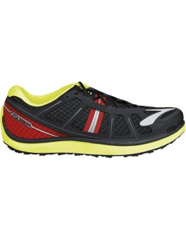 TRAIL RUNNNING SHOES BROOKS PUREGRIT 2 BLACK AND YELLOW FOR MEN'S