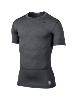 NIKE PRO COMBAT SHIRT GREY FOR MEN'S