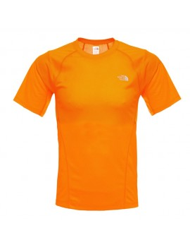 THE NORTH FACE SOLID FLEX SHIRT ORANGE FOR MEN'S