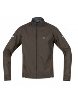 VESTE GORE RUNNING WEAR X-RUNNING LIGHT AS MARRON POUR HOMMES