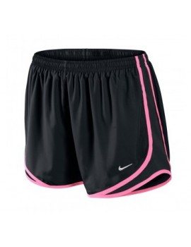 NIKE TEMPO SHORT BLACK AND PINK FOR WOMEN'S
