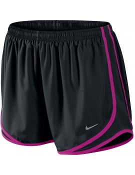 NIKE TEMPO SHORT BLACK AND PURPLE FOR WOMEN'S