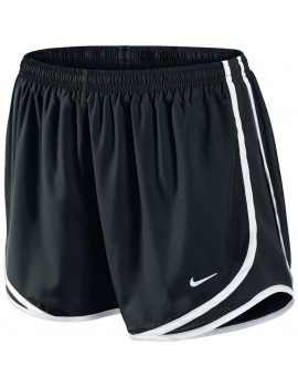 NIKE TEMPO SHORT BLACK AND WHITE FOR WOMEN'S