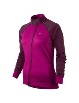 PULL DE RUNNING NIKE ELEMENT THERMAL ZIP INTEGRALE ROSE ET VIOLET POUR FEMMES