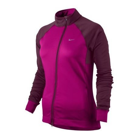 7a2a9503b2ac NIKE ELEMENT THERMAL FULL ZIP MIDLAYER PINK AND PURPLE FOR WOMEN S