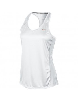NIKE MILER SINGLET WHITE FOR WOMEN'S
