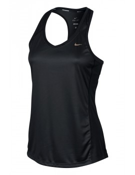 NIKE MILER SINGLET BLACK FOR WOMEN'S
