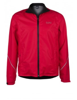 GORE RUNNING WEAR ESSENTIAL GT JACKET RED FOR WOMEN'S