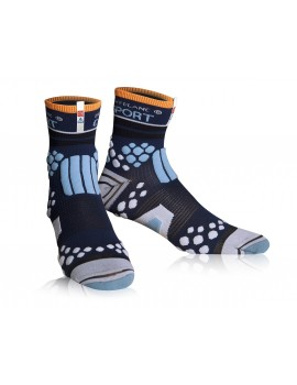 CHAUSSETTES DE TRAIL RUNNING COMPRESSPORT PRO RACING SOCKS UTMB -2014