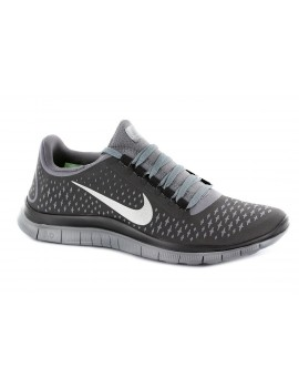 CHAUSSURES DE RUNNING NIKE FREE 3.0 V4 GRISE POUR HOMMES