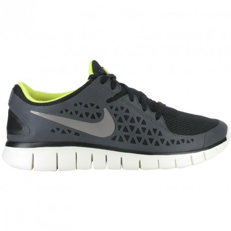 on sale 90271 b3cfd RUNNING SHOES NIKE FREE RUN + GREY, BLACK AND YELLOW FOR MEN S
