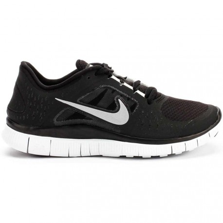 finest selection f0540 ece9d RUNNING SHOES NIKE FREE RUN + 3 BLACK AND WHITE FOR MEN S