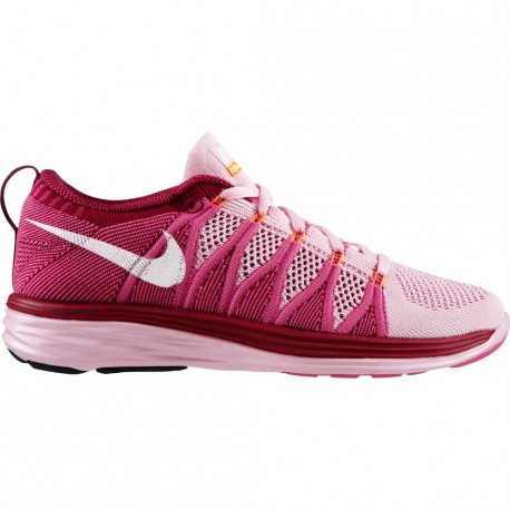 online retailer 2a4f1 cb99f RUNNING SHOES NIKE FLYKNIT LUNAR 2 PINK FOR WOMEN S