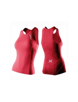 2XU COMP TRI SINGLET PINK FOR WOMEN'S