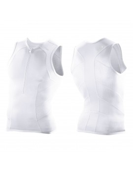 2XU PERFORM TRI SINGLET WHITE FOR MEN'S