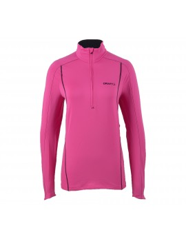 PULL DE RUNNING CRAFT LIGHTWEIGHT STRETCH ROSE POUR FEMMES