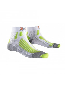 X-SOCKS RUN SPEED TWO WHITE AND GREEN