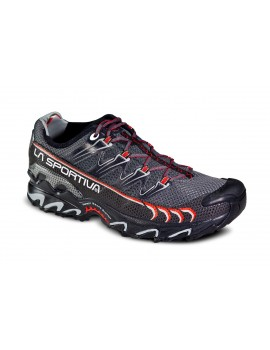 TRAIL RUNNING SHOES LA SPORTIVA ULTRA RAPTOR BLACK AND RED FOR MEN'S