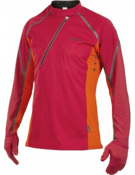 PULL CRAFT ELITE RUN WIND JERSEY ROUGE ET ORANGE POUR HOMMES