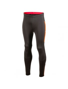 COLLANT DE RUNNING CRAFT PERFORMANCE THERMAL NOIR ET ORANGE POUR HOMMES