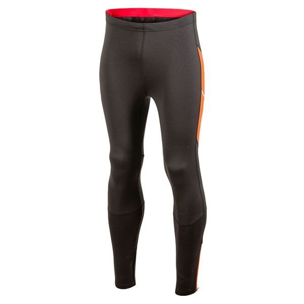 e1bb91a1e36845 Trail, firness specialist : CRAFT PERFORMANCE THERMAL TIGHT BLACK AND ORANGE  FOR MEN'S - Running Discount