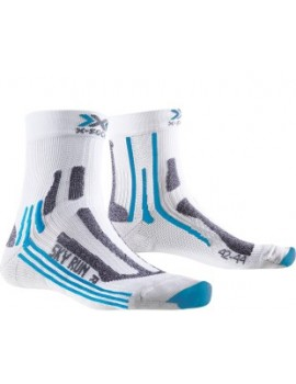 X-SOCKS SKY RUN V2 WHITE AND BLUE