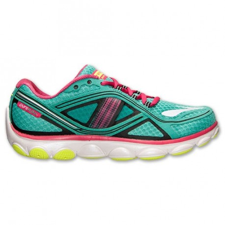 8d3b6be2223 RUNNING SHOES BROOKS PUREFLOW 3 BLUE AND PINK FOR WOMEN S