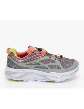 CHAUSSURES DE RUNNING HOKA ONE ONE HUAKA GRISE ET ORANGE POUR FEMMES