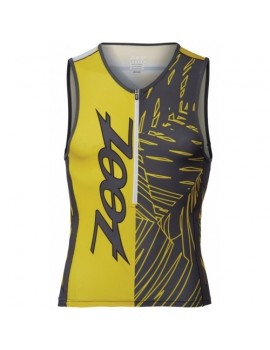 ZOOT PERFORMANCE TRI TEAM 1/2 ZIP TANK FOR MEN'S
