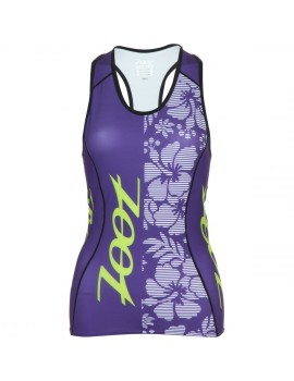 ZOOT PERFORMANCE TRI TEAM TANK PURPLE FOR WOMEN'S