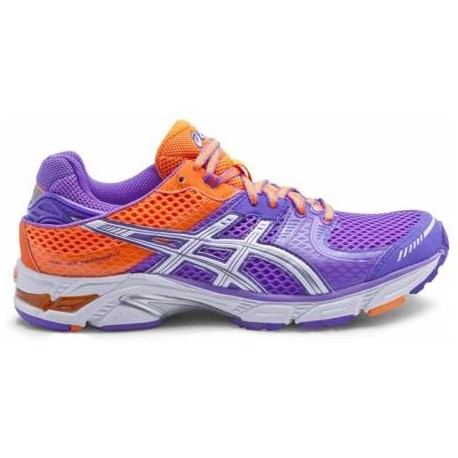 buy popular 6b7e0 4ac1c RUNNING SHOES ASICS GEL DS TRAINER 17 PURPLE AND ORANGE FOR WOMEN'S -  Running Discount