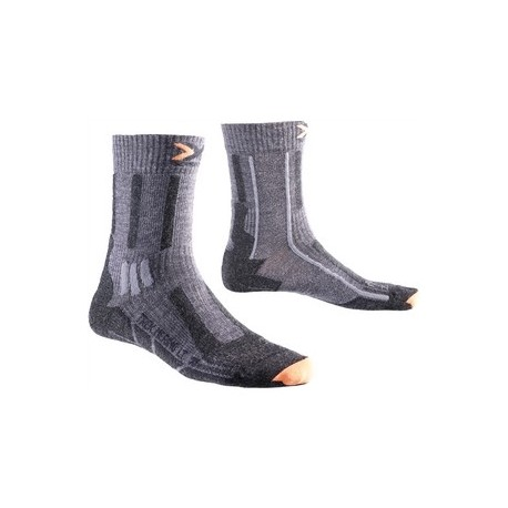 X-SOCKS TREKKING MERINO LIGHT GREY M