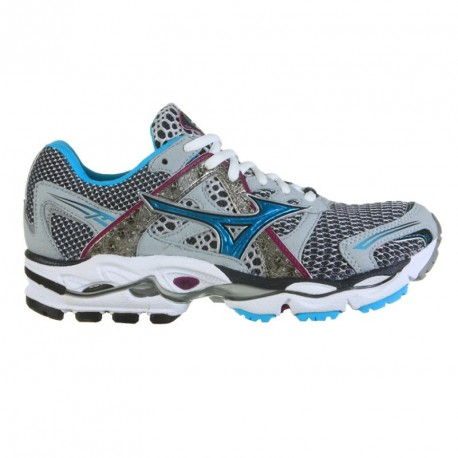 RUNNING SHOES MIZUNO WAVE ENIGMA GREY AND BLUE FOR WOMEN'S