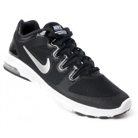 finest selection df9c3 c9c2c FITNESS SHOES NIKE AIR MAX FUSION BLACK AND WHITE FOR WOMEN S